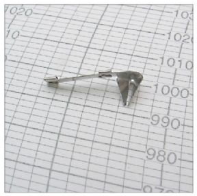 Conventional stainless steel triangular nib